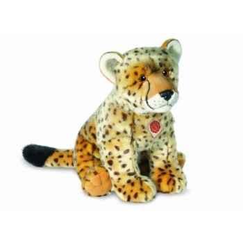 Peluche léopard 50 cm hermann 90454 0