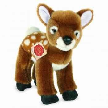 Peluche faon bambi debout 20 cm hermann 90822 7