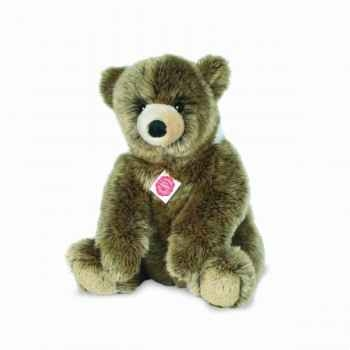 Peluche ours assis 35 cm hermann 91036 7