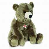 peluche ours assis 60 cm hermann 91060 2