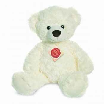 Peluche ours teddy creme 38 cm hermann 91151 7
