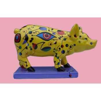 Figurine Cochon - Party Piggies - Deco-Ole - PAP03