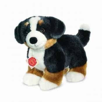 Peluche chien bouvier bernois debout 26 cm hermann 92769 3