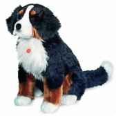 peluche chien bouvier bernois 70 cm hermann 92896 6