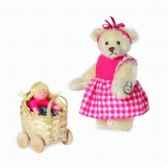 peluche miniature ours klara 9 cm collection 2d limitee teddy originahermann 15158 6