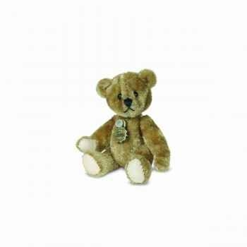 Peluche miniature ours teddy doré 5,5 cm collection teddy original hermann -15772 4