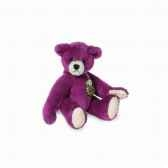 peluche miniature ours teddy violet 6 cm collection teddy originahermann 15785 4