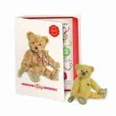 peluche miniature ours teddy 14 cm collection ed limitee livre hermann 16242 1