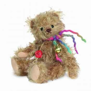 Peluche ours teddy drolli 23 cm collection éd. limitée 300 ex. hermann -17011 2