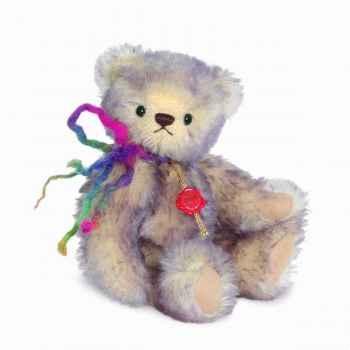 Peluche ours teddy lilli 23 cm collection éd. limitée 300 ex. hermann -17012 9