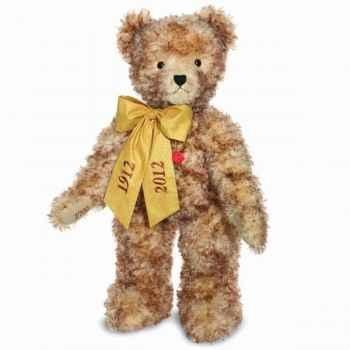 Peluche ours teddy artur 100 cm debout collection anniversaire éd. limitée 100 ex. hermann -17406 6