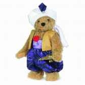 peluche ours teddy aladin 34 cm collection ed limitee 300 ex hermann 11835 0