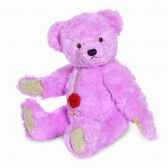 peluche ourse teddy rose hyazintha 35 cm collection ed limitee 200 ex hermann 12326 2