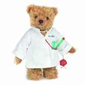 peluche docteur ours 28 cm collection ed limitee 300 ex teddy hermann 14631 5