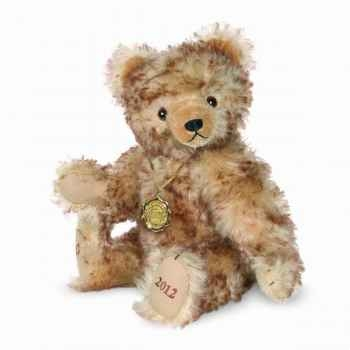 Peluche ours teddy bear 100 ans 30 cm collection éd. limitée hermann -14640 7