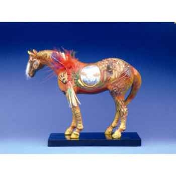 Figurine Cheval - Painted Ponies - Reunion Family Man - 12208
