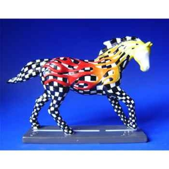 Figurine Cheval - Painted Ponies - Horsepower to burn - 12226