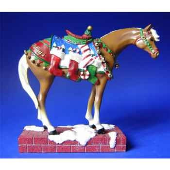 Figurine Cheval - Painted Ponies - Happy Holidays - 12217