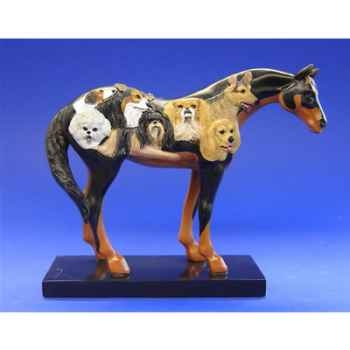 Figurine Cheval - Painted Ponies - Dog et Ponyshow - 12231
