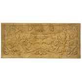 decoration murale cherub waldecor rouille bs3086rst