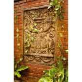decoration murale waldecor griffin motif rouille bs2602rst