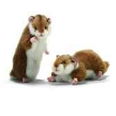 anima peluche hamsters dresse et couche 16 cm 3738