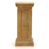 colonne et piedestabristopodest medium bronze et vert de gris bs1024vb
