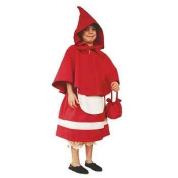 Bandicoot-C1-Costume petit chaperon rouge 4/6 ans