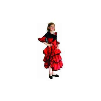 Bandicoot-C22-Costume Carmen 6/8 ans