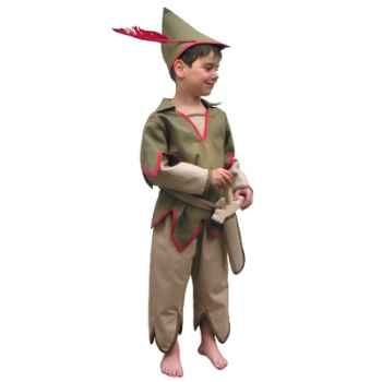 Bandicoot-C27-Costume Peter pan 4/6 ans