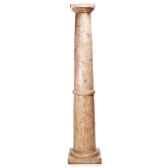 colonne et piedestaclassic column granite bs1010gry