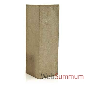 Colonne et Piedestal Display Pedestal Large, granite -bs1016gry