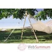 support hamac madera az 4030100