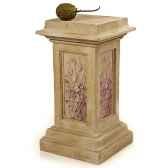 colonne et piedestaspring pedesta granite lbs1027gry