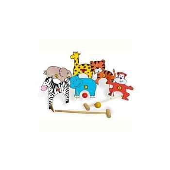 Jeu Croquet animaux de la jungle - Vilac 4069