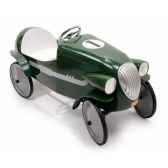 baghera voiture a pedales en metale mans verte 55 x 115 cm 3 a 5 ans baghera 01924v
