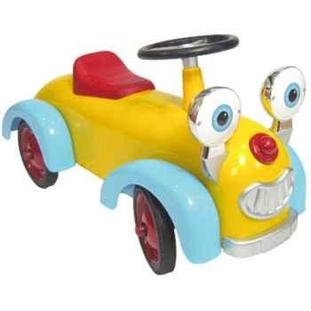 Baghera - Porteur Booxy - coloris jaune, bleu et rouge - Baghera-00896