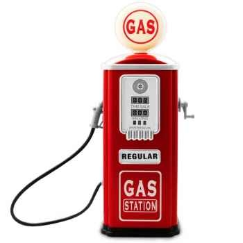 Baghera - Station essence - en métal - hauteur 85 cm - Baghera-19888