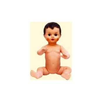 Baigneur Petit Collin 50 cm yeux \'cristal\' fixés, cheveux peints à jambes torses - Le véritable baigneur Petit Collin-205001