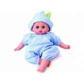 bebe petit calin 28cm blanc a la creche corps souple yeux dormeurs 622865