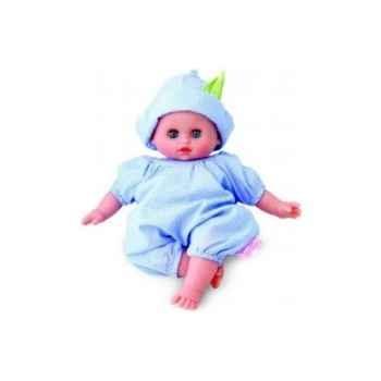 Bébé Petit Calin-28cm-blanc-A la Crêche-corps souple-yeux dormeurs-622865