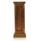 colonne et piedestabristopodest marbre vieilli combines or bs1003wwg