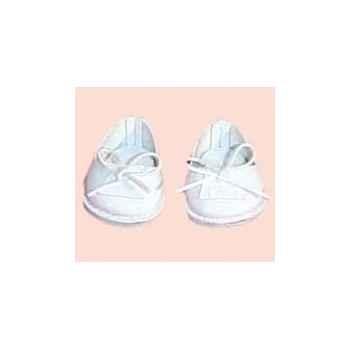 Chaussure pour bébé Petit Calin 28 cm - Mocassins blancs - 602819