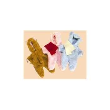 Vêtement \'Nounours\' pour bébé Léo 50 cm - 505074