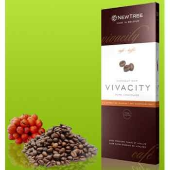 Newtree-Chocolat Noir Vivacity Café , tablette 80g-340128