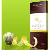 newtree chocolat noir digest citron tablette 80g 340142