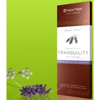 Newtree-Chocolat Lait Tranquility Lavande, tablette 80g-340159