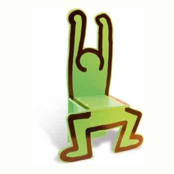 Chaise Keith Harin verte - Vilac 9296