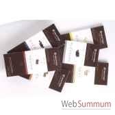 newtree lot de 6 tablettes chocolat noir tablette de 80g