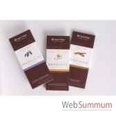 newtree lot de 3 tablettes chocolat au lait tablette de 80g